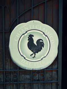 chianti black rooster | The symbol of Chianti Classico is the Black Rooster..but something is ...