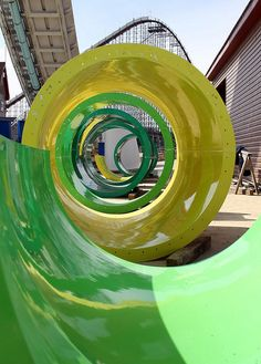Hyena Falls slide pieces (or a giant Fruit Roll-Up)