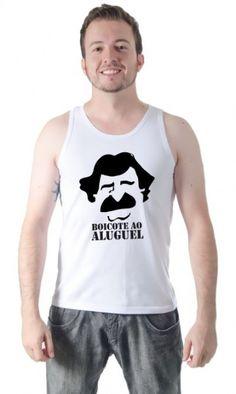 Camiseta Belchior Boicote ao Aluguel por apenas R$39.90