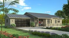 Custom Home Designs, Custom Homes, Hybrid Design, Ranch, Shed, Outdoor Structures, House Design, Traditional, Group