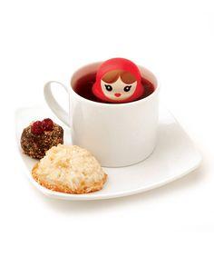 Babushka Tea Infuser - I have it and it works amazingly well :)