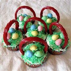 Easter Surprise Cupcakes Allrecipes.com