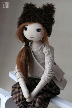 Netis – roma z Dumnego Kasztanowca, handmade doll by romaszop