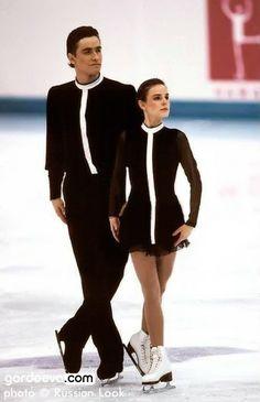 (USSR) Russia's Ekaterina Gordeeva & Sergei Grinkov. Figure Skating - Pairs 1988 @ Calgary & 1994 @ Lillehamer .