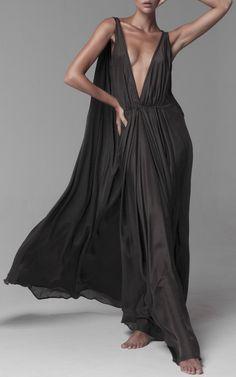 Kalita Clemence Plunge Maxi Dress