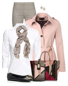 Pink Jacket by daiscat on Polyvore featuring polyvore, fashion, style, H&M, ESCADA, Altuzarra, Tory Burch, River Island, Dorothy Perkins, Chesca and clothing