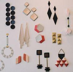 giant earrings installation at store in tokyo by anna gleeson, via Flickr