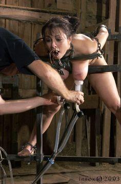 Erotic pumping of female udders