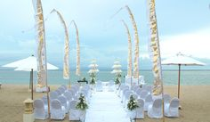flags? for yje beach wedding cool