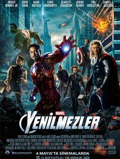Yenilmezler , The Avengers Filmini Altyazılı 1080p İzle