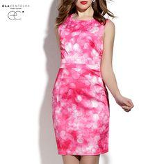 Aliexpress.com : Buy ElaCentelha Brand Dress Summer Women High Quality Print Contrast Color Sleeveless Dress Wasit Bandage Bodycon New Mini Dresses from Reliable dress 0 suppliers on ElaCentelha    Alibaba Group