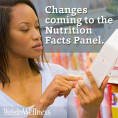Do you check #nutrition labels while #grocery shopping? Our own John Swartzberg, M.D., weighs in on recent proposed changes to the Nutrition Facts Panel. http://berkeleywellness.com/healthy-eating/nutrition/article/food-label-overhaul/?ap=2012 #diet