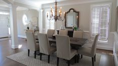 A beautiful new dining room designed by our team. Design by Black Dog Design House. Residential Interior Design, Commercial Interior Design, Commercial Interiors, Interior Design Services, Dining Room Design, Dining Rooms, Dog Design, House Design, Cabinet Furniture