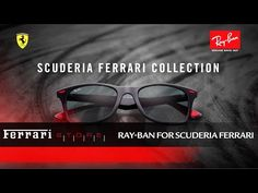 In the 2017 season Ray-Ban joins forces with Scuderia Ferrari. Matching the audacity, ambition and adrenalin of the racetrack, Ray-Ban takes it up a notch wi. Formula 1, Ferrari, Ray Bans, Youtube, Collection, Ray Ban Glasses, Youtube Movies