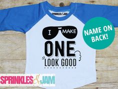 1st Birthday Boy Shirt 1st Birthday Shirt First by SprinklesandJam