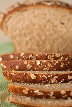 oatmeal wheat bread- tender!- makes two loaves