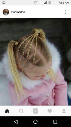 up hairdos – Hair Style Girls Hairdos, Pigtail Hairstyles, Pigtail Braids, Baby Girl Hairstyles, Princess Hairstyles, Girls Braids, Braided Hairstyles, Braided Pigtails, Toddler Hairstyles