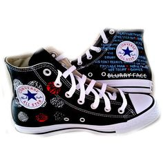 21 Pilots, Converse Hi Tops, Custom Shoes, Hand Painted Shoes,... (230 AUD) ❤ liked on Polyvore featuring shoes, sneakers, black hi tops, checkerboard shoes, black sneakers, black high top shoes and high-top sneakers