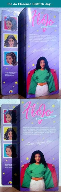 Flo Jo Florence Griffith Joyner Doll. Olymic star Flo Jo Doll - Vintage collectible toy from the 1980s!.