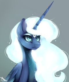 Fast drawing Luna by NutellaAkaNutella on DeviantArt All My Little Pony, My Little Pony Drawing, My Little Pony Pictures, My Little Pony Friendship, The Little Mermaid, Princesa Celestia, Baby Girl Drawing, Fast Drawing, My Little Pony Wallpaper