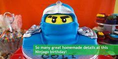 Colt's Ninjago Lego Birthday Party