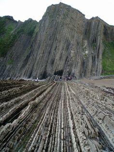Flysch Rock Formation in Zumaia, Spain | WOE
