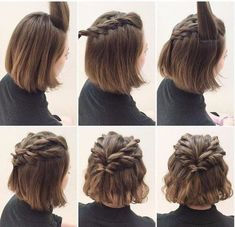 Easy Hairstyles Short Hair