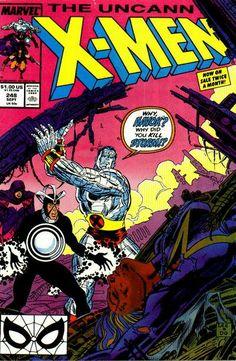Uncanny X-Men # 248 by Jim Lee & Dan Green  Auction your comics on www.comicbazaar.co.uk