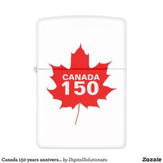 Canada 150 years anniversary one-of-a-kind zippo lighter