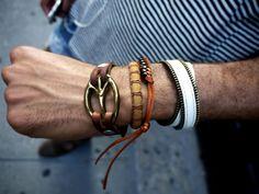 Pulseiras masculinas - Acessórios para homens de todos os estilos
