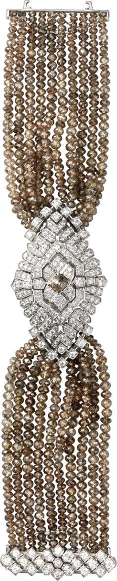 Cartier Montre Haute Joaillerie Petit modèle, or gris rhodié