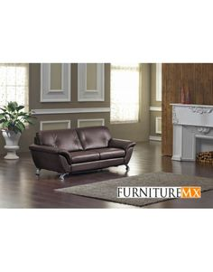 T136 Modern Brown Leather Sofa W/ Pull Out Sofa Bed | 3 Want | Pinterest | Leather  Sofas, Leather Sofa Bed And Office Sofa