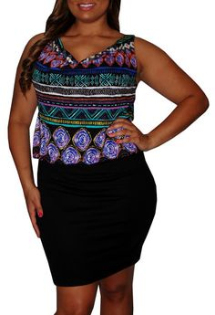Audit (Plus)-Great Glam is the web's top plus size online store clothing website for 1X 2X and 3X clothes and apparel for ladies, women and juniors