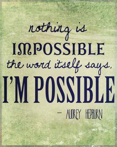Audry Hepburn...