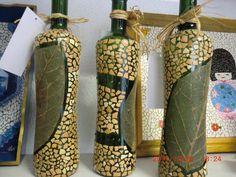 Trio de garrafas