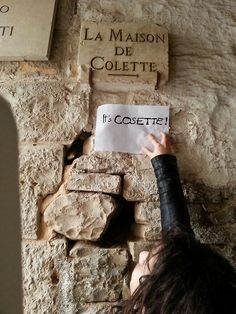"""""""It's Cosette!"""" Bahaha! - whenever I type her name, it wants to correct it to Colette. I sit there sayin' """"Ah don't think so. mmm-mmm."""""""