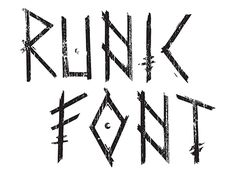 "Check out new work on my @Behance portfolio: ""RUNIC FONT"" http://be.net/gallery/47069665/RUNIC-FONT"
