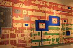 Oh, the countless hours I wasted in my youth playing the Legend of Zelda.  HUGE 8 Foot Long ZELDA Inspired Map Wall Mural by Packmania.