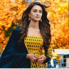Image may contain: 1 person, standing and outdoor Indian Tv Actress, Indian Actresses, Erica Fernandes Hot, Modest Fashion Hijab, Dress Indian Style, Cute Girl Face, Indian Designer Outfits, Most Beautiful Indian Actress, Pakistani Outfits