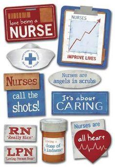Karen Foster Design - Stickers - Public Heroes Collection - Nurse at Scrapbook.com $1.49