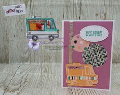 Global Stampers February 2017: Sale-A-Bration Tasty Trucks #tastytrucks #stitchedshapesframelits #playfulpalettedspstack #stampinup #stampinupdemonstrator #globalstampers #stampcreationswithmunchkin