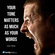 Your tone matters as much as your words - Dave Willis