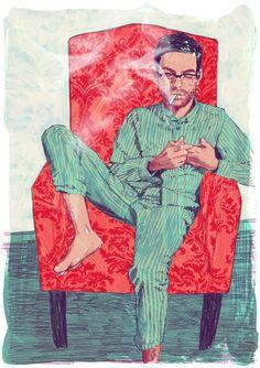 J.D. Salinger's Nine Stories Illustrations