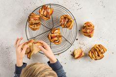 Fotzelschnitten-Muffins - Rezepte | little FOOBY Shrimp, Meat, Food, Kid Cooking, Kid Recipes, Diy Cake, Beef, Eten, Meals