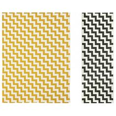 Tapis design grafik grand tapis de salon aux tons jaunes home sweet home pinterest met - Coin bureau ontwerp ...
