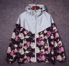 windbreaker coat on sale at reasonable prices, buy Mens sport skateboard brand suprem reflect light outdoor camouflage jackets coats men women camo floral jacket windbreaker from mobile site on Aliexpress Now! Teen Fashion, Fashion Outfits, Camouflage Jacket, Textiles, Cute Jackets, Jacket Brands, Outerwear Women, Windbreaker Jacket, Floral