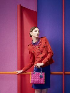Sophie Delaporte - Photographers - Fashion - Les Echos Color Blocks | Michele Filomeno