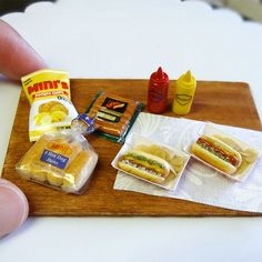 Mini hot dog lunch tray