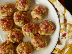 Bacon Corn Muffins with Pecan - Maple Glaze: Cooking with Maseca - Nibbles and Feasts