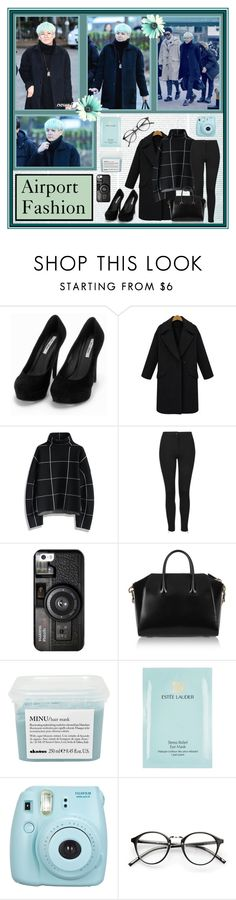 """#255 - SUGA"" by bangtan-life ❤ liked on Polyvore featuring Nly Shoes, Chicwish, Topshop, Casetify, Givenchy, Davines and Estée Lauder"